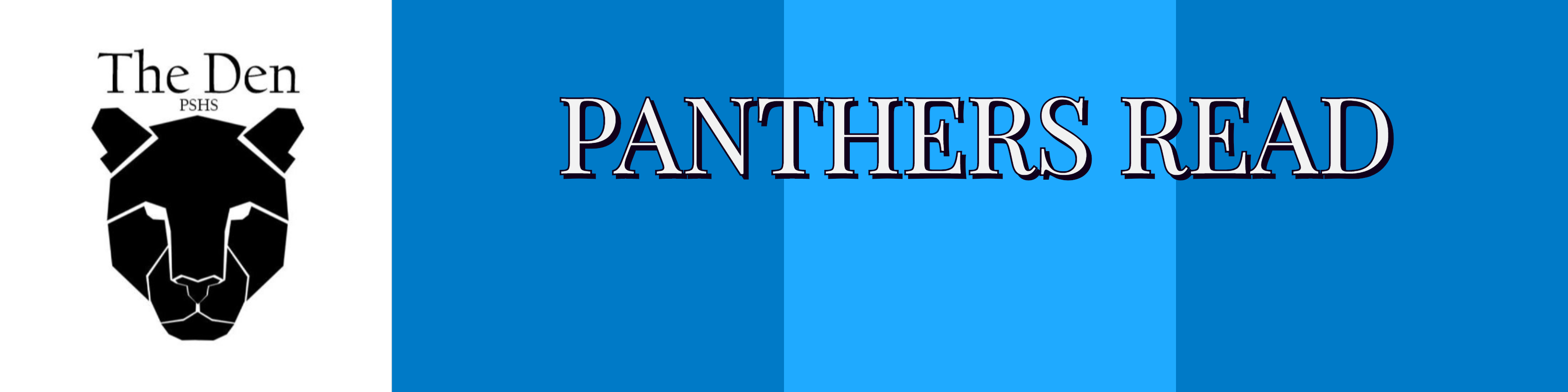 The Den Library, panther image, Panthers Read
